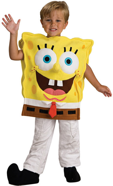 Child's Deluxe Spongebob Squarepants Costume