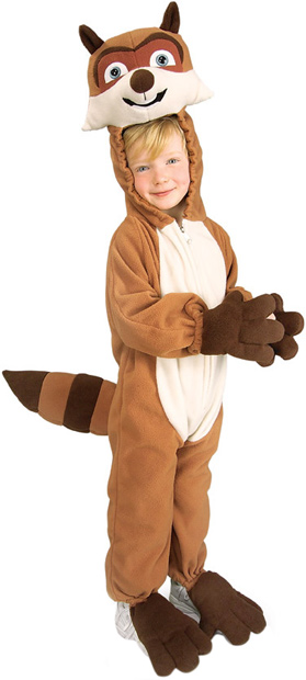 Toddler Racoon Costume