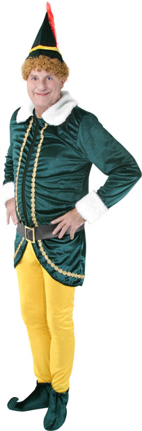 Adult Buddy the Elf Costume