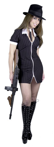 Sexy Gangster Girl Costume