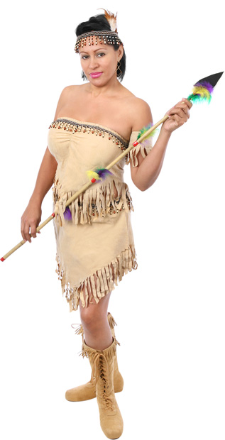 Plus Size Sexy Navajo Indian Costume