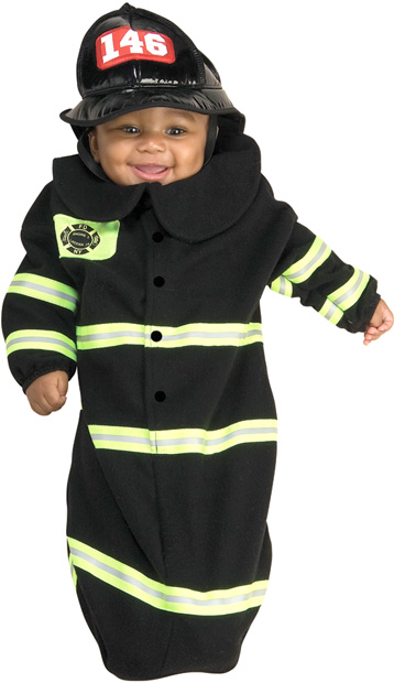Baby Bunting Firefighter Costume