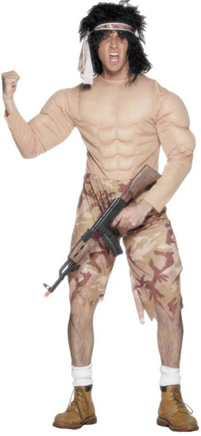 Adult Rambo Costume