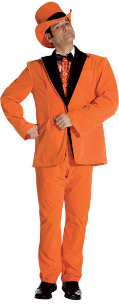 Orange Dumb And Dumber Tuxedo Costume