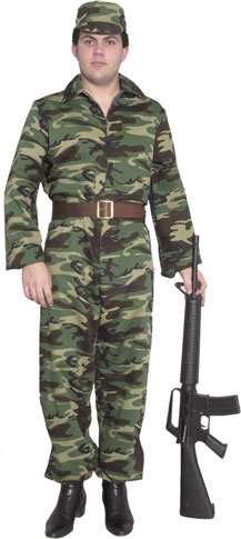 Men's ARMY GI Costume