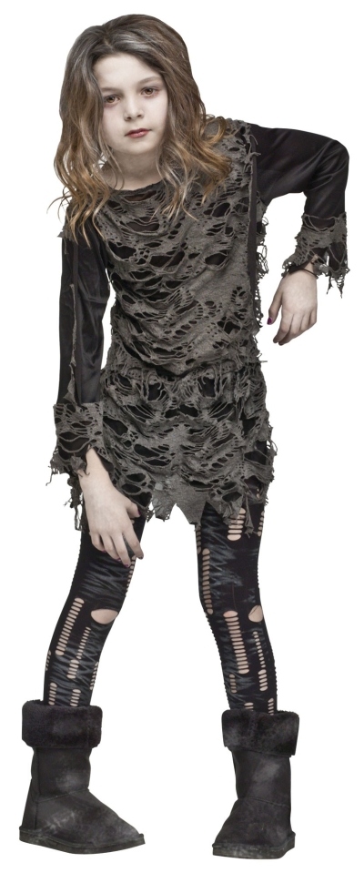 Girl's Undead Zombie Costume