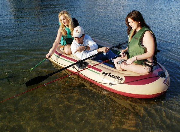 Solstice Voyager 3 Person Inflatable Boat