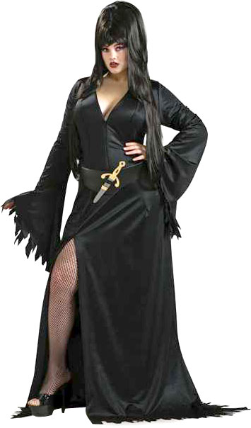 Plus Size Mistress of the Night Costume