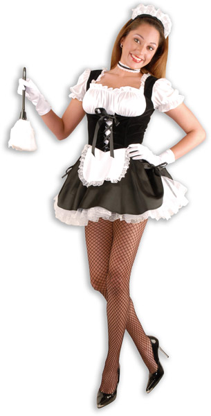 The hot french maid costume something is