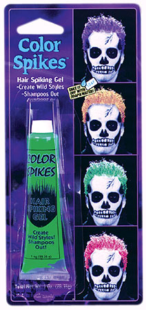 Lime Green Colored Hair Gel