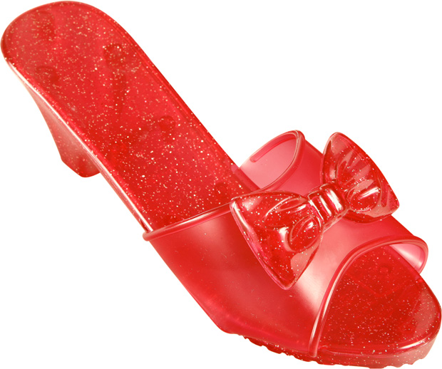 Child's Dorothy Ruby Red Slippers