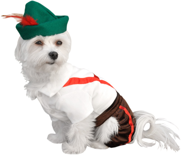 Lederhosen Dog Costume