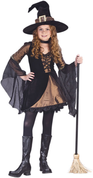 Child's Sweetie Witch Costume