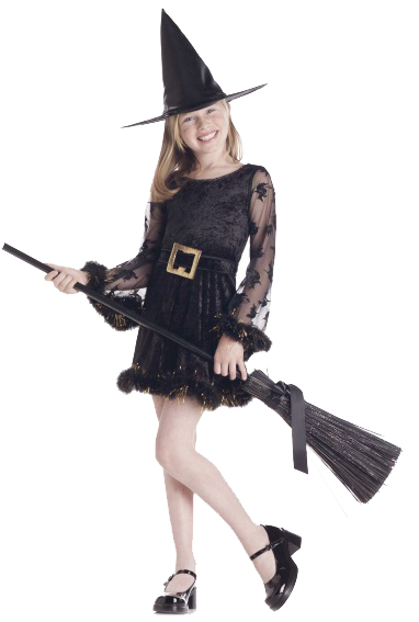 Child's Adorable Witch Costume