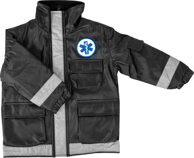 Child's Black Paramedic Jacket