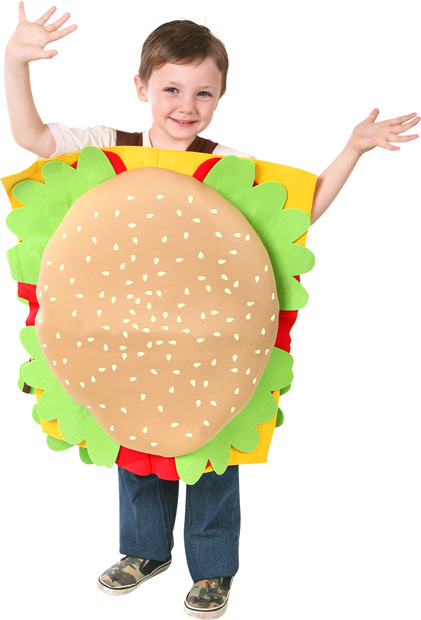 Child's Hamburger Costume