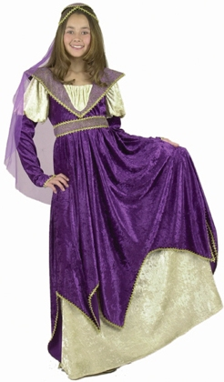 Child's Maiden of Verona Costume