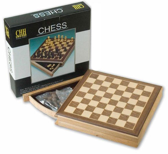 """10�"""" Sector Drawer Magnetic Chess Box"""