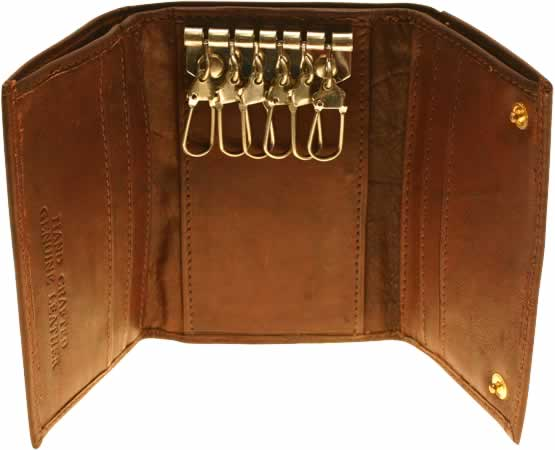Cowhide Leather Key Case