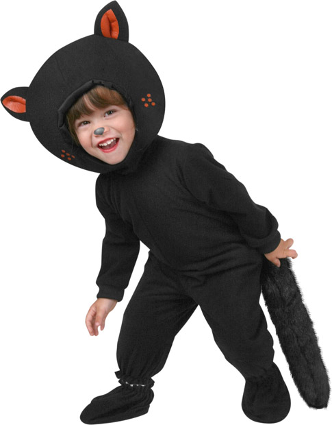Toddler Classic Black Cat Costume