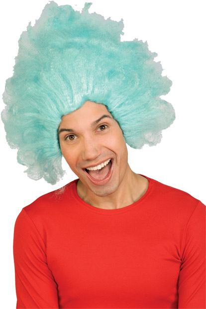 Dr. Seuss Thing Costume Wig
