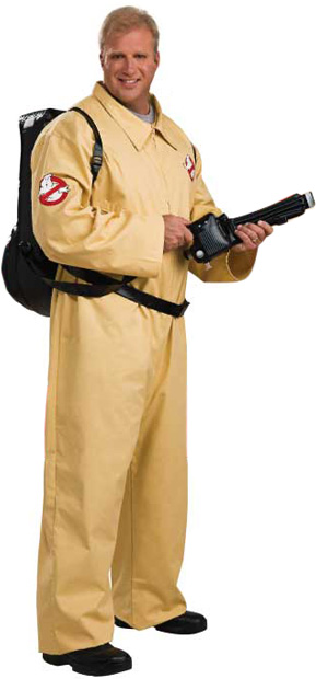 Adult Plus Size Deluxe Ghostbusters Costume