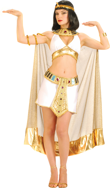 Adult Sexy Queen Cleopatra One-Piece Costume