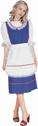 Adult Blue Bavarian Dress Costume