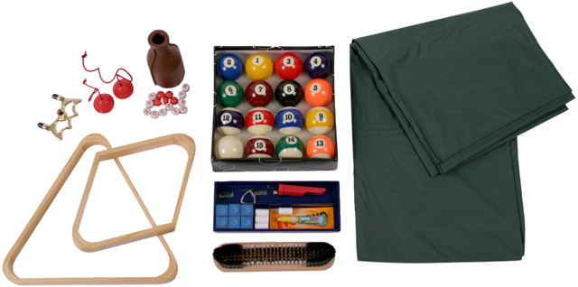 Pool Table Accessory Kit