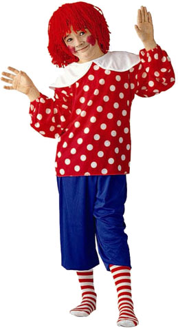 Kids Rag Doll Boy Costume