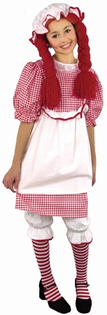 Child's Raggedy Anne Costume