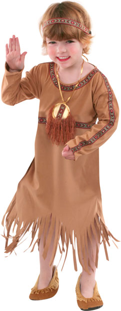 Child's Indian Princess Costume