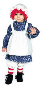 Infant Raggedy Ann Costume