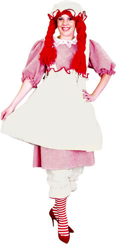 Adult Raggedy Girl Costume