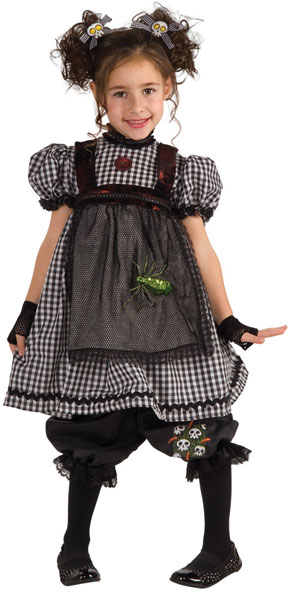 Child Gothic Ragdoll Costume