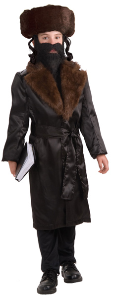 Child's Jewish Rabbi Costume