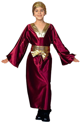 Child's Wine Wise Man Costume