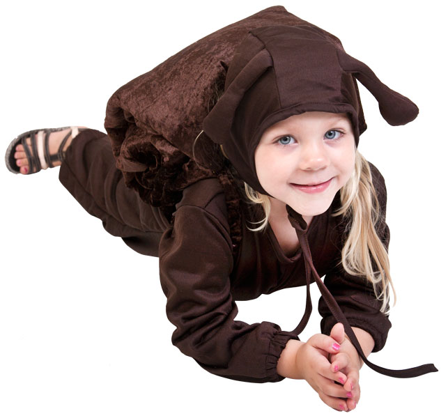 Child Brown Snail Costume