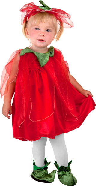 Toddler Strawberry Fairy Costume
