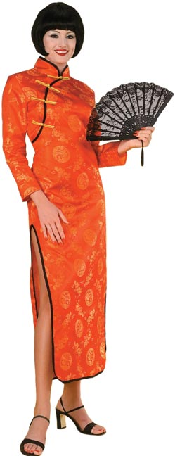 Adult Oriental Dress Costume