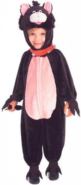 Toddler Cute Black Cat Costume