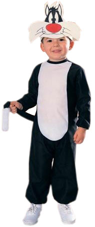 Toddler Deluxe Sylvester the Cat Costume