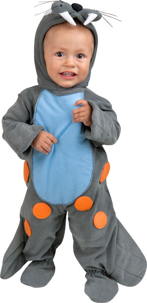 Baby Blue Seal Costume