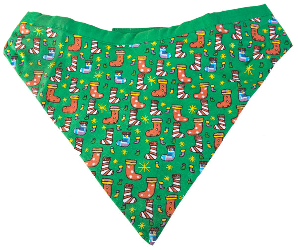 Stockings Christmas Dog Bandanna