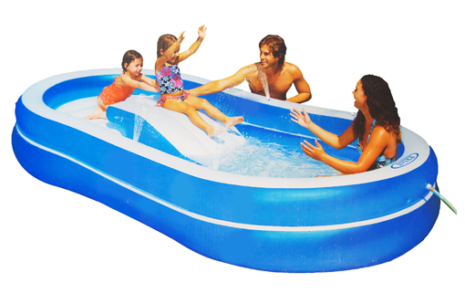 Slide N Spray Fun Pool