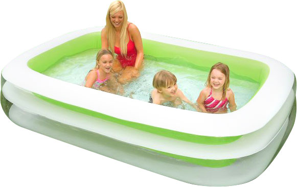 Inflatable Vinyl Family Swimming Pool