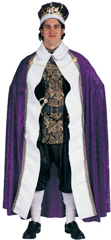 Adult Velvet King's Robe Costume