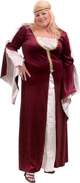 Plus Size Regal Princess Costume