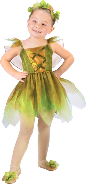 Toddler Gold Leaf Fairy Costume