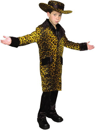 Child's Cheetah Pimp Costume